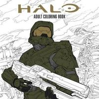 Halo Coloring Book image