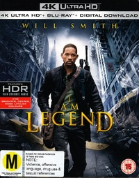 I Am Legend on Blu-ray, UHD Blu-ray