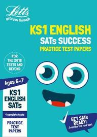 KS1 English SATs Practice Test Papers by Letts KS1 image