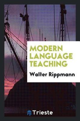 Modern Language Teaching by Walter Rippmann image