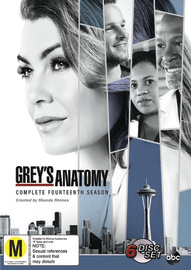 Grey's Anatomy Season 14 on DVD