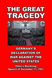 The Great Tragedy by Adolf Hitler