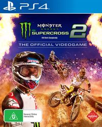 Monster Energy Supercross - The Official Videogame 2 for PS4