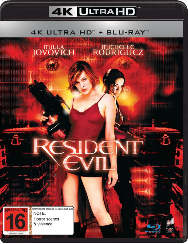 Resident Evil (4K UHD) on UHD Blu-ray