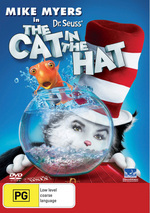 Cat In The Hat, Dr Seuss on DVD