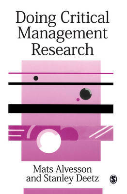 Doing Critical Management Research by Mats Alvesson image