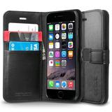 Spigen Wallet Case for iPhone 6 (Black)