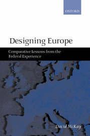 Designing Europe by David McKay image