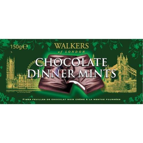 Walkers Chocolate Mint Thins (150g) | at Mighty Ape NZ