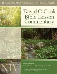 David C. Cook's Bible Lesson Commentary NIV by David C Cook image