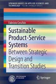 Sustainable Product-Service Systems by Fabrizio Ceschin