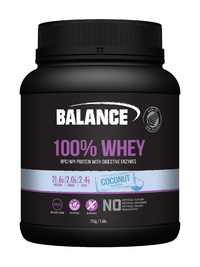 Balance 100% Whey Protein - Coconut (750g) image