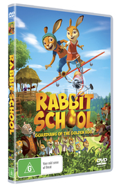 Rabbit School: Guardians of the Golden Egg on DVD