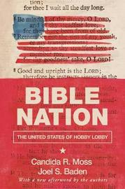 Bible Nation by Candida R Moss