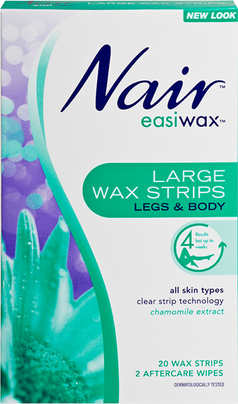 Nair: Easiwax Large Strips (20's)