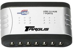 Targus USB 2.0 7-port hub with audio pass through