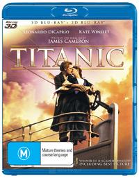 Titanic 3D on Blu-ray, 3D Blu-ray
