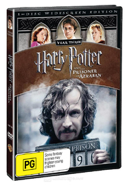 Harry Potter and the Prisoner of Azkaban - 1 Disc (New Packaging) DVD