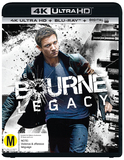 The Bourne Legacy (4K UHD + Blu-ray) DVD