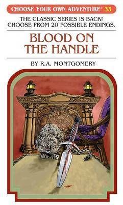 Blood on the Handle by R.A. Montgomery