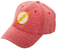 DC Comics: Flash Rubber Weld Logo - Cationic Flex Cap