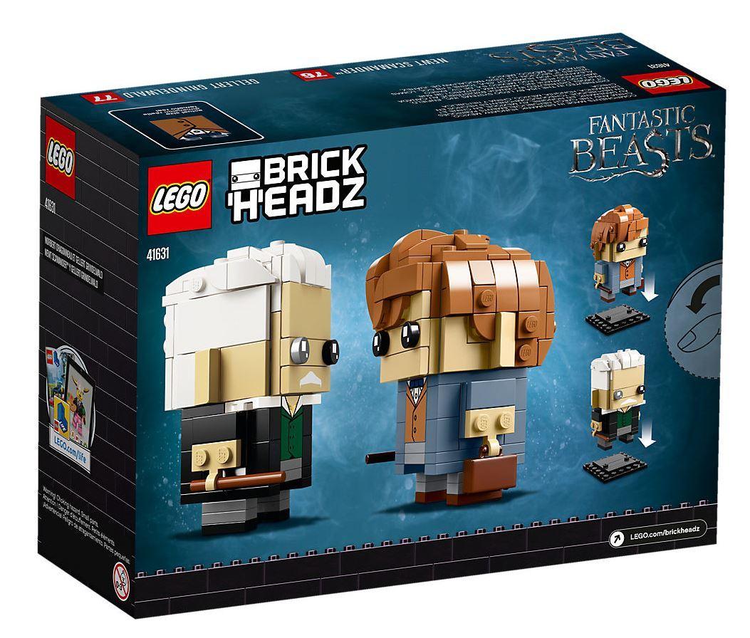LEGO Brickheadz: Newt Scamander & Gellert Grindelwald (41631) image