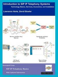 Introduction to SIP IP Telephony Systems by Lawrence J Harte image