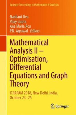 Mathematical Analysis II - Optimisation, Differential Equations and Graph Theory