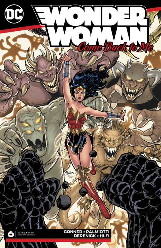 Wonder Woman: Come Back To Me - #6 (Cover A) by Amanda Conner