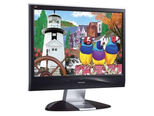 "Viewsonic VX2835WM 28"" Wide LCD 1920x1200 5ms Black image"
