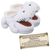 Monty Python Rabbit with Big Pointy Teeth Slippers