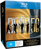 Bond 50 - James Bond 007 Collection (Limited Edition) on Blu-ray