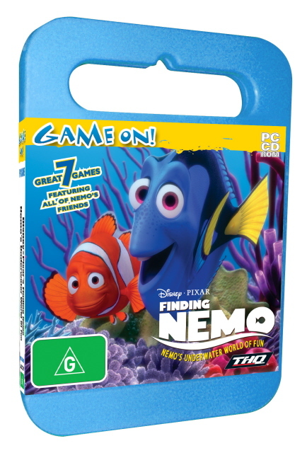 Finding Nemo Underwater World of Fun - Toy Case for PC Games