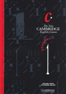 The New Cambridge English Course 1 Student's Book Italian Edition: Bk. 1 by Catherine Walter