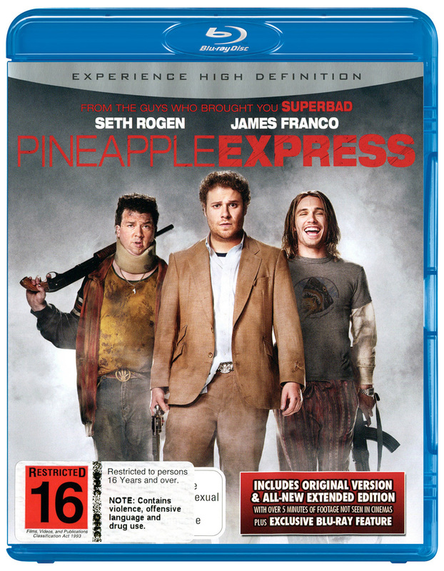 Pineapple Express on Blu-ray