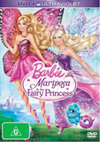 Barbie Mariposa & the Fairy Princess DVD