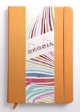 Rhodiarama A5 Webnotebook Lined (Orange)