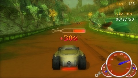 Hot Wheels Ultimate Racing for PSP image