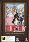 Fairy Tail Guild Collection 4 (eps 143-175) DVD