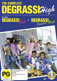 Degrassi High : The Complete Series 1987-1991 on DVD