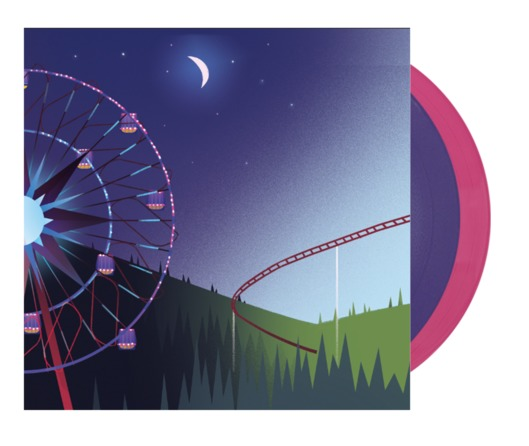 Planet Coaster Soundtrack (2LP) by Jim Guthrie image