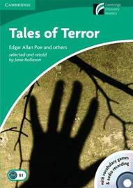 Tales of Terror Level 3 Lower-intermediate American English Book with CD-ROM and Audio CDs (2) Pack: Level 3 image