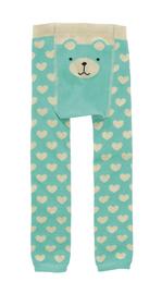 Boxed Baby Sock & Legging Set - Bear