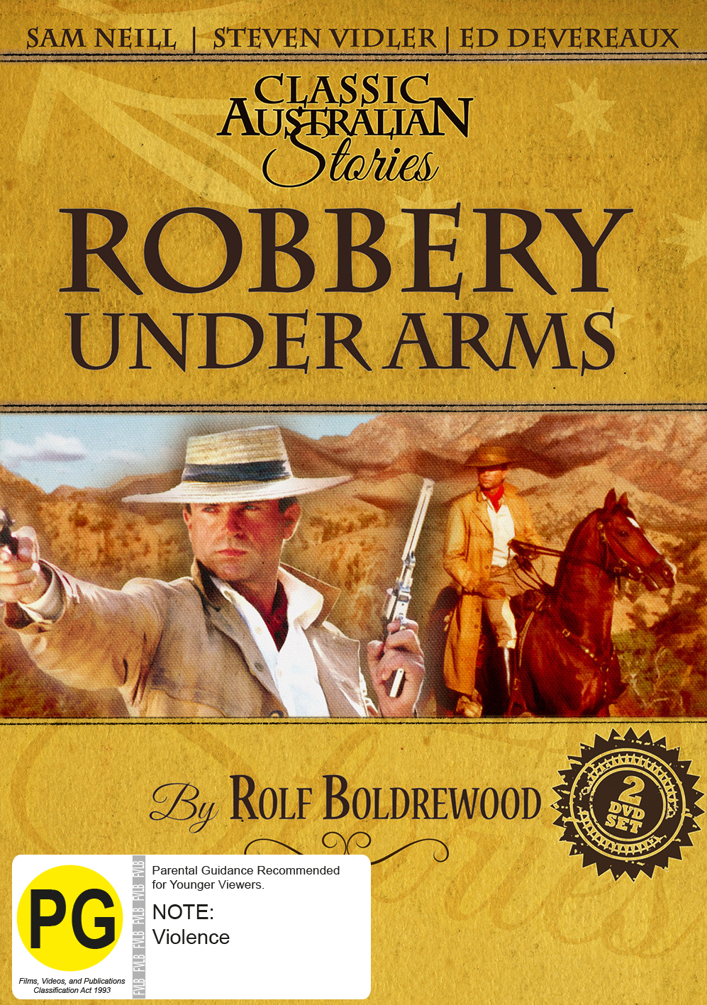 Robbery Under Arms (Mini Series) (Classic Australian Stories) on DVD image