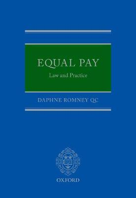 Equal Pay: Law and Practice by Daphne Romney QC image