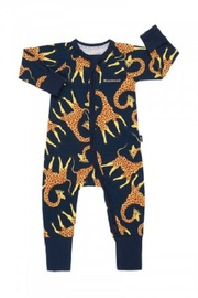 Bonds Zip Wondersuit Long Sleeve - Jelly Giraffe North West (12-18 Months)