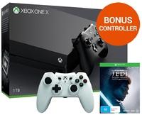 Xbox One X 1TB Star Wars Jedi: Fallen Order Console Bundle for Xbox One image