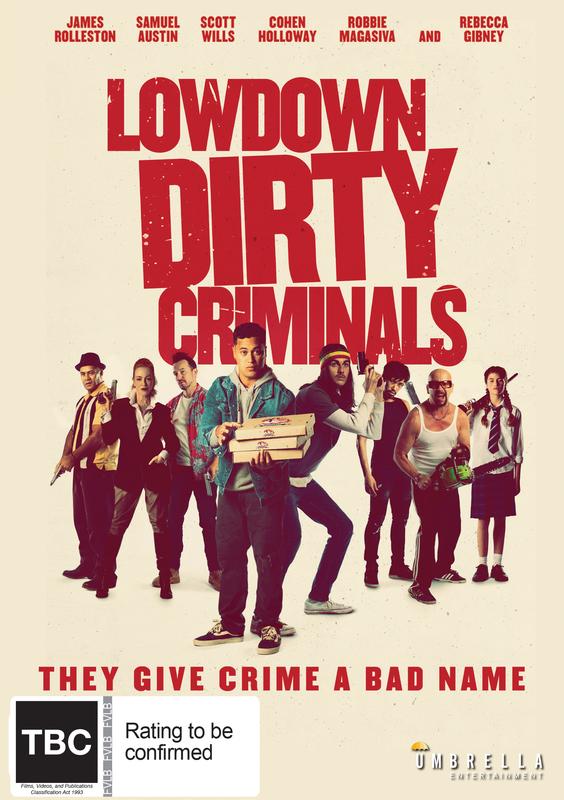 Lowdown Dirty Criminals on DVD