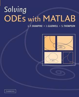 Solving ODEs with MATLAB by L F Shampine image