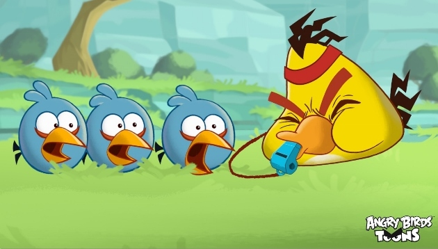 Angry Birds Toons - Season 1: Volume 1 on DVD image